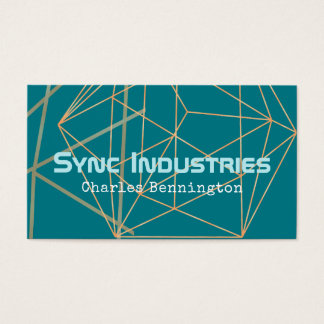 Giving Business Golden Angles Business Card