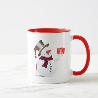 Giving Snowman for Christmas / X-mas Mug