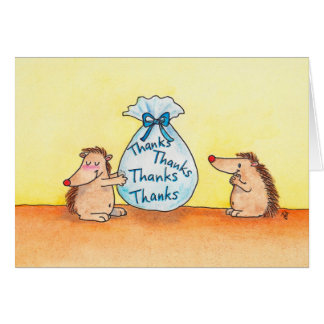 GIVING THANKS greeting card by Nicole Janes