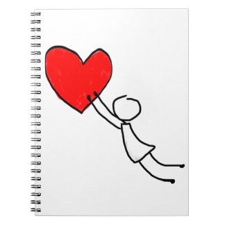 giving you my heart spiral note books