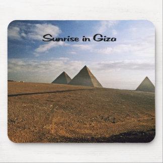 Giza Egypt Sunrise Mouse Pad