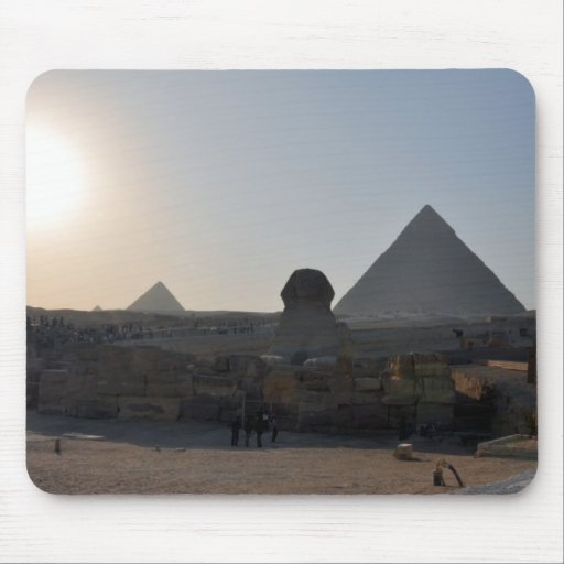 Giza Pyramids and Sphinx Mousepad