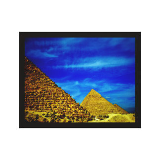 Giza Pyramids Canvas Print