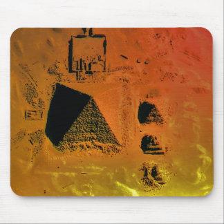 Giza Pyramids Mouse Pad