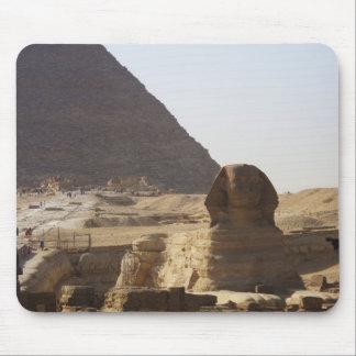 Giza Pyramids & Sphinx photo Mouse Pad