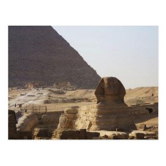 Giza Pyramids & Sphinx photo Postcard