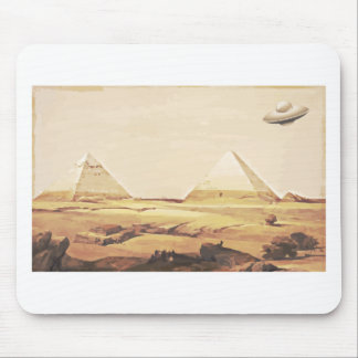 Giza Spaceship Mouse Pad