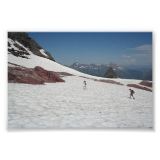 glacial hike posters