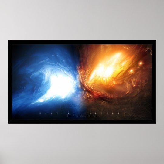 Glacial Inferno Poster