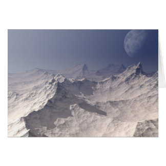 Glacial Landscape Card