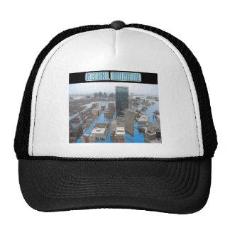 Glacial Minimum - Black Mesh Hat