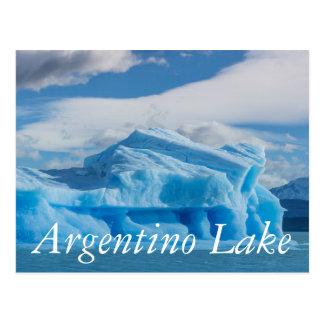 Glaciars, Argentino Lake Postcard