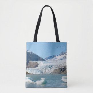 Glacier and Fireweed Tote Bag