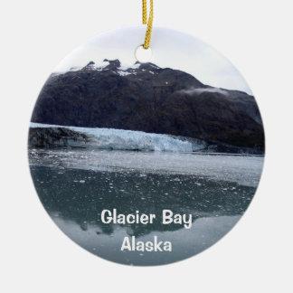 Glacier Bay, Alaska Ceramic Ornament