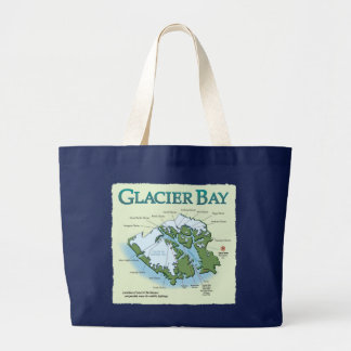 Glacier Bay Dark Jumbo Tote Tote Bag