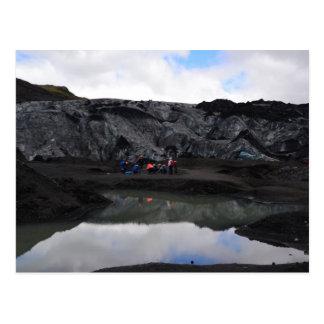 Glacier Bound, South Iceland Postcard