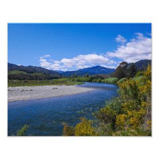 Glacier Country, New Zealand - Photo Print