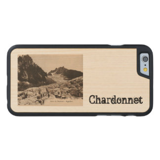 Glacier de Chardonnet - Argentiéres Haute Savoie Carved® Maple iPhone 6 Slim Case