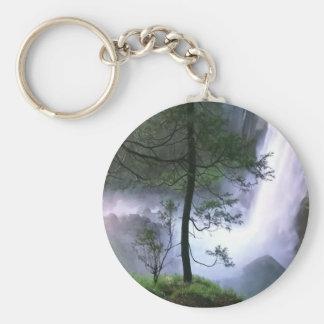 Glacier Falls Key Ring