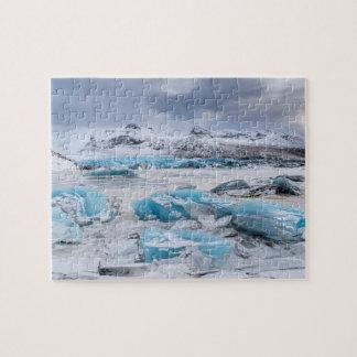 Glacier Ice landscape, Iceland Puzzle