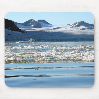 Glacier in Svalbard Mouse Pad