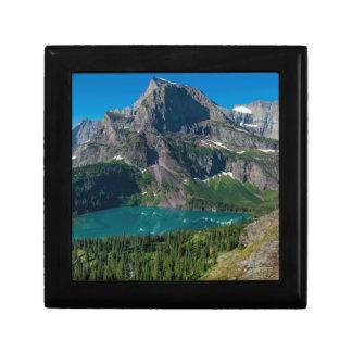 Glacier lake in a mountain, Montana Gift Box