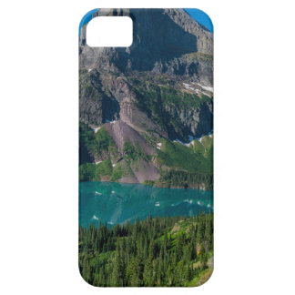 Glacier lake in a mountain, Montana iPhone 5 Cases