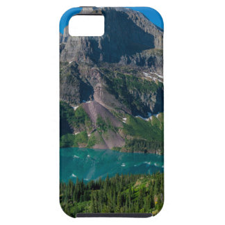 Glacier lake in a mountain, Montana Tough iPhone 5 Case