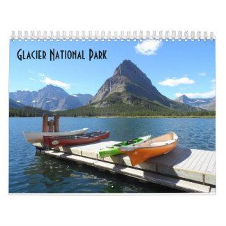 Glacier National Park 2017 Calendar
