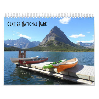Glacier National Park 2018 Calendar