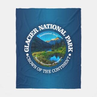 Glacier National Park Fleece Blanket