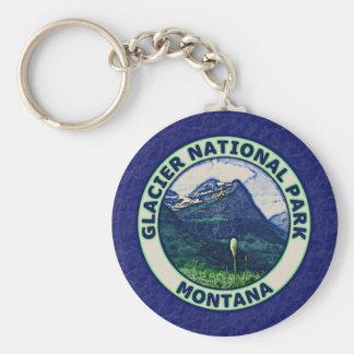 Glacier National Park Key Ring
