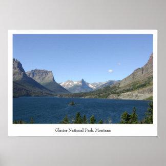 Glacier National Park - Lake View Poster