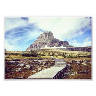 Glacier National Park - Logan Pass Photograph