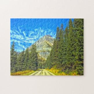 Glacier National Park Montana. Jigsaw Puzzle