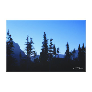 """Glacier National Park Morn Canvas 51.72"""" x 33.48"""""""