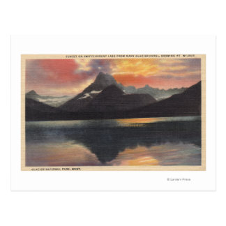 Glacier National Park, MT Postcard