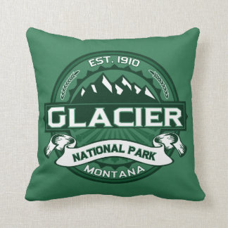 Glacier National Park Pillow