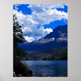 Glacier National Park scenes Poster
