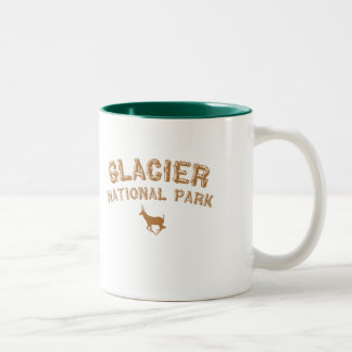 Glacier National Park Two-Tone Coffee Mug