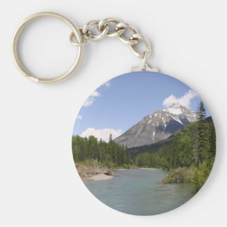 Glacier Park Rivers and Peaks Key Ring