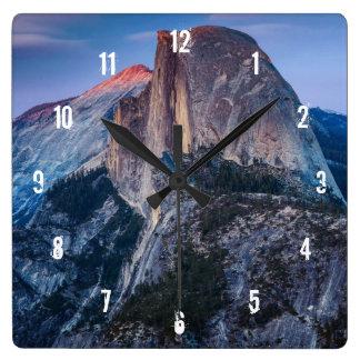 Glacier Point Square Wall Clock