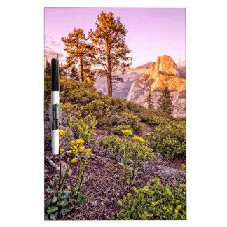 Glacier Point Sunset (Horizontal) Dry Erase Boards