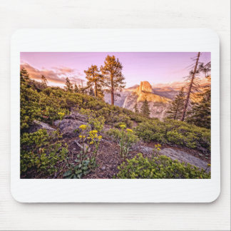 Glacier Point Sunset (Horizontal) Mouse Pads