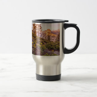 Glacier Point Sunset (Horizontal) Stainless Steel Travel Mug