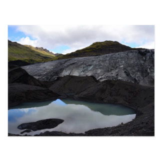 Glacier Reflection, South Iceland Postcard