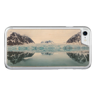 Glacier reflections, Norway Carved iPhone 7 Case