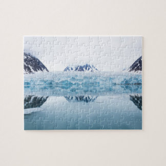 Glacier reflections, Norway Jigsaw Puzzle