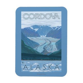 Glacier Scene - Cordova, Alaska Magnet