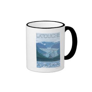 Glacier Scene - Latouche, Alaska Coffee Mug
